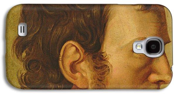 Headshot Galaxy S4 Cases - Self Portrait Galaxy S4 Case by Philipp Otto Runge