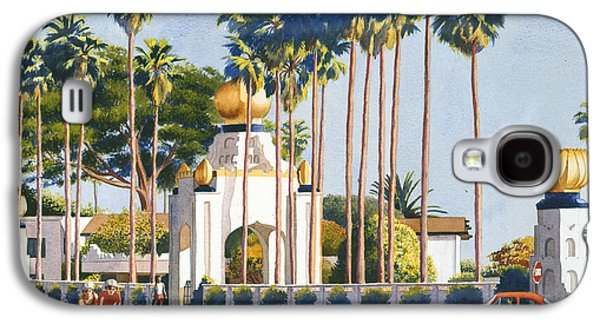 Religious Galaxy S4 Cases - Self Realization Fellowship Encinitas Galaxy S4 Case by Mary Helmreich