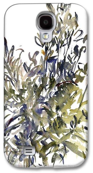 Tasteful Art Galaxy S4 Cases - Senecio and other plants Galaxy S4 Case by Claudia Hutchins-Puechavy