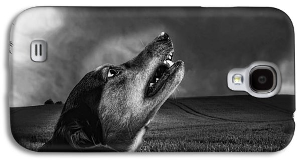 Growling Galaxy S4 Cases - Senses on Alert Galaxy S4 Case by Mountain Dreams