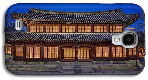 Ancient Galaxy S4 Cases - Seogeodang Hall Galaxy S4 Case by Joan Carroll
