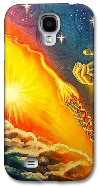 Separation Paintings Galaxy S4 Cases - Separation Galaxy S4 Case by Starr Weems