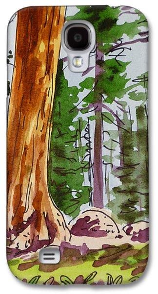 Sequoia Park - California Sketchbook Project  Galaxy S4 Case by Irina Sztukowski