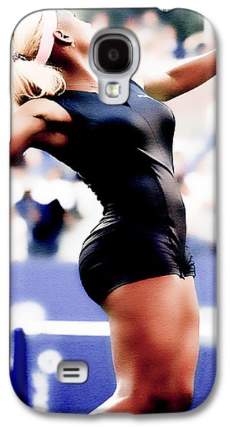 Serena Williams Catsuit Galaxy S4 Case by Brian Reaves