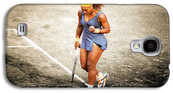Serena Williams Count It Galaxy S4 Case by Brian Reaves
