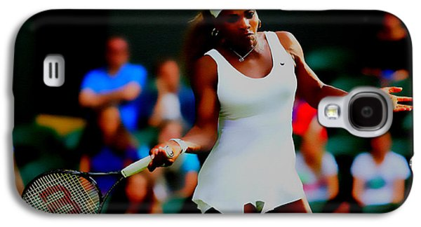 Serena Williams Making It Look Easy Galaxy S4 Case by Brian Reaves