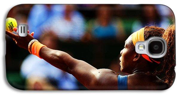 Serena Williams Galaxy S4 Case by Srdjan Petrovic