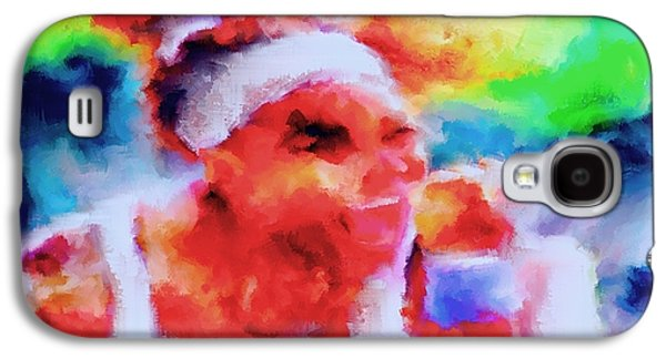 Nike Paintings Galaxy S4 Cases - Serena Williams Yes Galaxy S4 Case by Brian Reaves