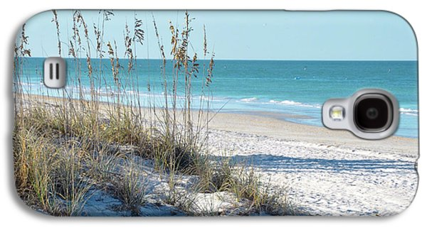 Serene Florida Beach Scene Galaxy S4 Case by Rebecca Brittain