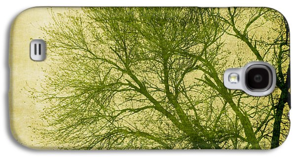 Photo Manipulation Galaxy S4 Cases - Serene Green 1 Galaxy S4 Case by Wendy J St Christopher