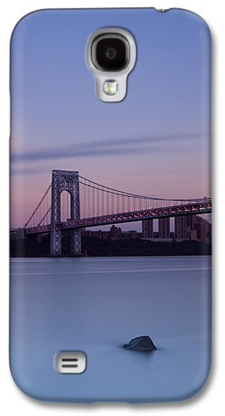 Manhatan Galaxy S4 Cases - Serene New York Galaxy S4 Case by Poliana DeVane