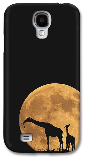 Serengeti Safari Galaxy S4 Case by Carrie Ann Grippo-Pike