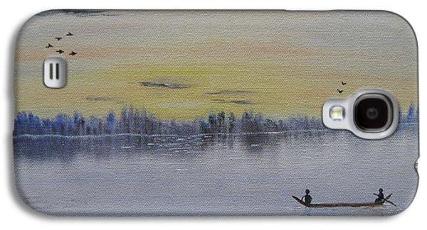 Bob Ross Paintings Galaxy S4 Cases - Serenity Galaxy S4 Case by Sayali Mahajan