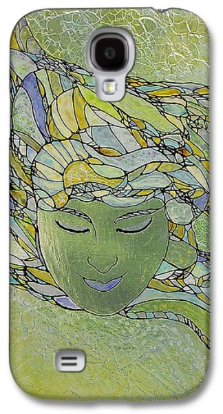 Surrealism Glass Galaxy S4 Cases - Serenity Galaxy S4 Case by Teresa Young