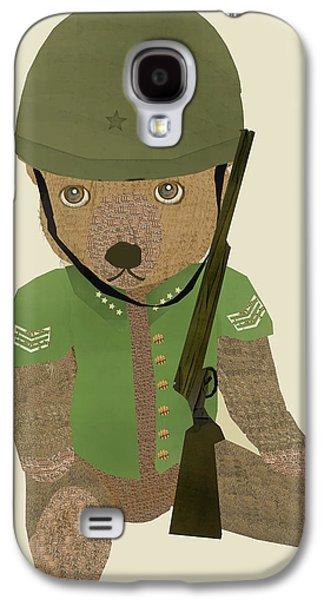 Bear Digital Galaxy S4 Cases - Sergeant Ted Galaxy S4 Case by Bri Buckley