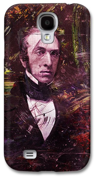 Historical Figures Galaxy S4 Cases - Serious Fellow 1 Galaxy S4 Case by James W Johnson