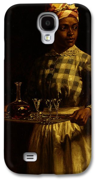 African-american Galaxy S4 Cases - Serving Maid Galaxy S4 Case by Thomas Waterman Wood