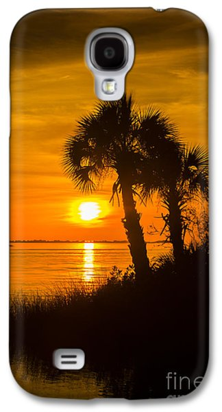Wildlife Refuge. Galaxy S4 Cases - Settting Sun Galaxy S4 Case by Marvin Spates