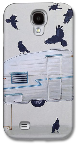 Seven Crows And A Canned Ham Galaxy S4 Case by Jeffrey Bess