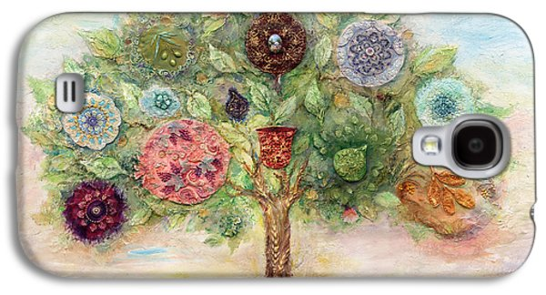Ancient Paintings Galaxy S4 Cases - Seven Fruits Galaxy S4 Case by Michoel Muchnik