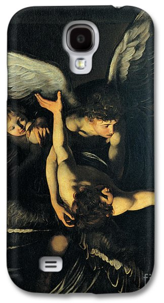 Mercy Galaxy S4 Cases - Seven Works of Mercy Galaxy S4 Case by Caravaggio