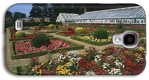 Garden Scene Galaxy S4 Cases - Sewerby Gardens Galaxy S4 Case by Michael R Chandler