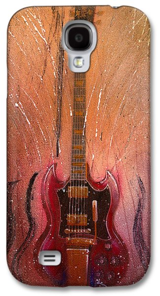 Rock N Roll Paintings Galaxy S4 Cases - Sg Galaxy S4 Case by Andrew King