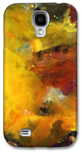 Splashy Paintings Galaxy S4 Cases - Sg1002 Galaxy S4 Case by Kathleen Fowler