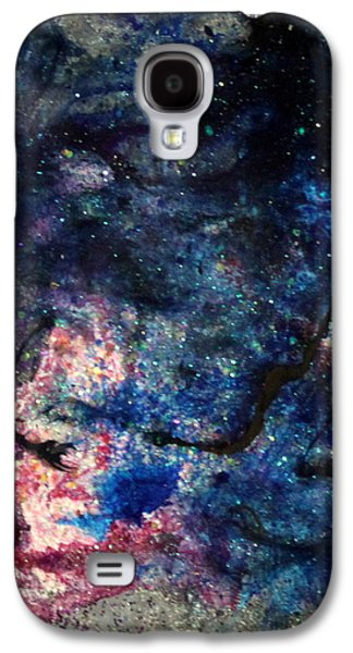 Splashy Paintings Galaxy S4 Cases - Sa122 Galaxy S4 Case by Kathleen Fowler