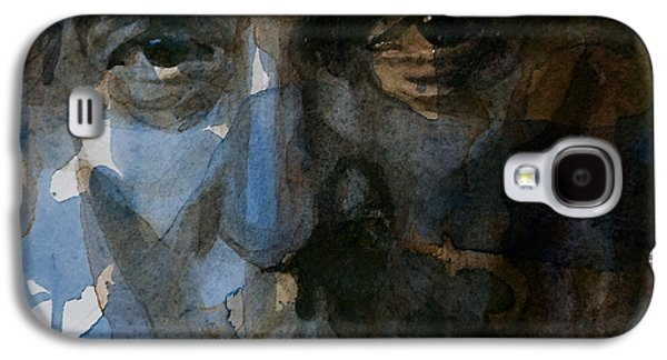 Boss Paintings Galaxy S4 Cases - Shackled and Drawn Galaxy S4 Case by Paul Lovering