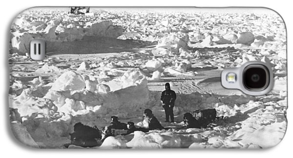 Shackleton's Antarctic Venture Galaxy S4 Case by Underwood Archives