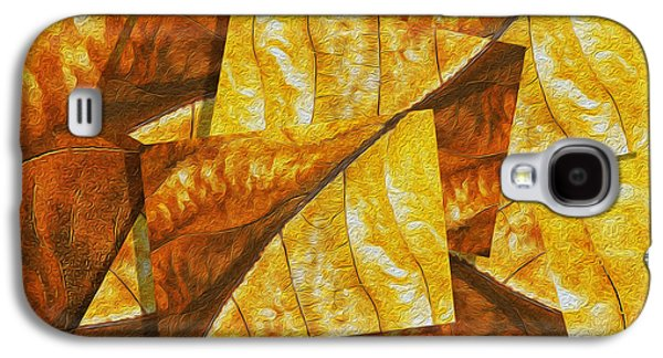 Installation Art Galaxy S4 Cases - Shades of Autumn Galaxy S4 Case by Jack Zulli