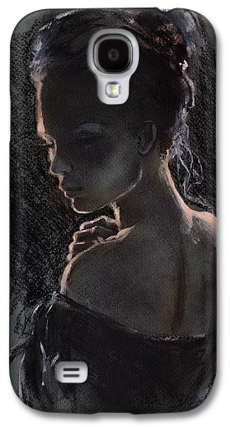 Figures Mixed Media Galaxy S4 Cases - Shades Of Light Galaxy S4 Case by Dorina  Costras