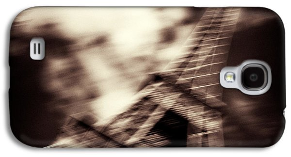 Abstract Movement Photographs Galaxy S4 Cases - Shades of Paris Galaxy S4 Case by Dave Bowman