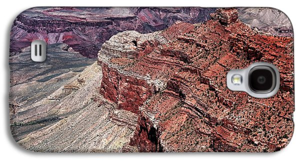 Shades Of Red Galaxy S4 Cases - Shades of Red in the Canyon Galaxy S4 Case by John Rizzuto
