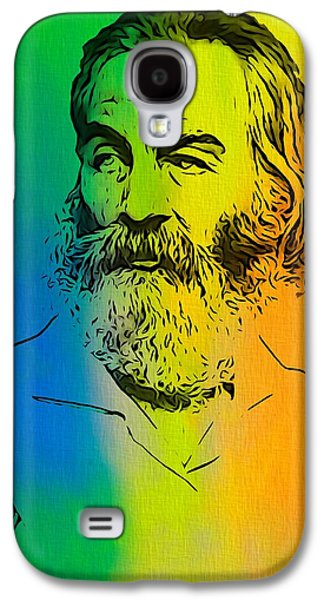 Author Mixed Media Galaxy S4 Cases - Shades Of Walt Whitman Galaxy S4 Case by Dan Sproul