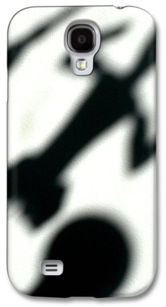 Abstract Collage Drawings Galaxy S4 Cases - Shadow art Galaxy S4 Case by Godfrey McDonnell