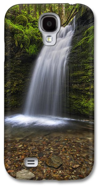 Idaho Photographs Galaxy S4 Cases - Shadow Falls Galaxy S4 Case by Mark Kiver