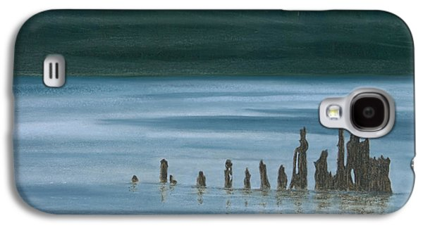 Waterscape Pastels Galaxy S4 Cases - Shadow Host in The Mist Galaxy S4 Case by Stanza Widen