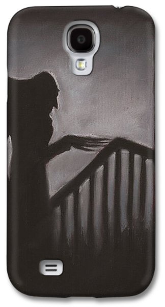 Creepy Pastels Galaxy S4 Cases - Shadow Galaxy S4 Case by Nina Shilling