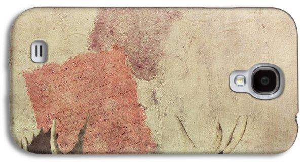Digital Collage Galaxy S4 Cases - Shadow Galaxy S4 Case by Priska Wettstein