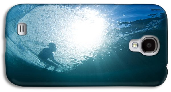 Surrealism Photographs Galaxy S4 Cases - Shadow Surfer Galaxy S4 Case by Sean Davey
