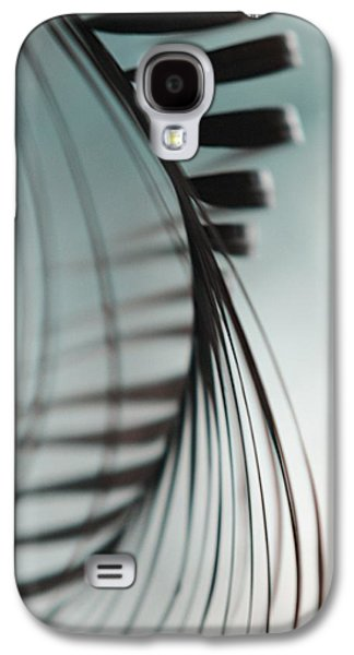 Abstract Nature Galaxy S4 Cases - Shadow Twist Galaxy S4 Case by Jenny Rainbow
