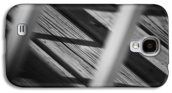Contemplative Photographs Galaxy S4 Cases - Shadows of Carpentry Galaxy S4 Case by Christi Kraft