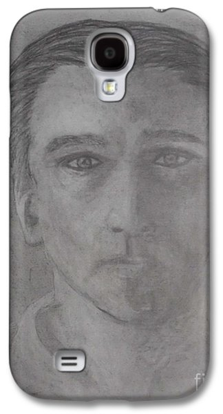 Etc. Drawings Galaxy S4 Cases - Shadows of my Life Galaxy S4 Case by James Eye