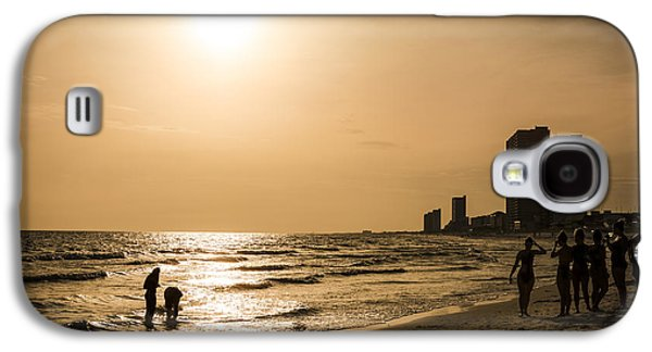 Panama City Beach Galaxy S4 Cases - Shadows of the Beach Galaxy S4 Case by David Morefield