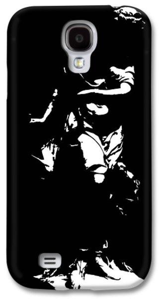 Animation Sculptures Galaxy S4 Cases - Estatua Galaxy S4 Case by Julio R Lopez Jr