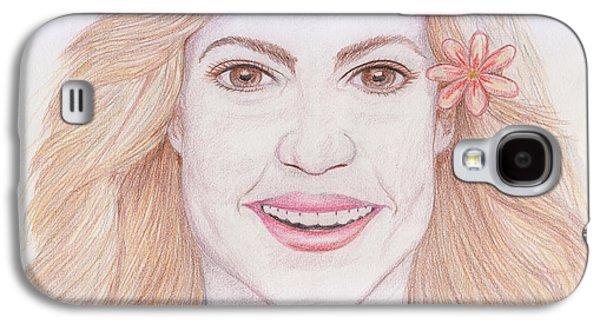 Shakira Galaxy S4 Case by M Valeriano