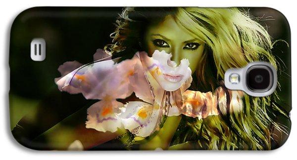 Shakira Galaxy S4 Case by Marvin Blaine