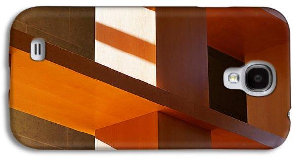 """geometric Art"" Galaxy S4 Cases - Shapes and Shadows 2 Galaxy S4 Case by Ernie Echols"